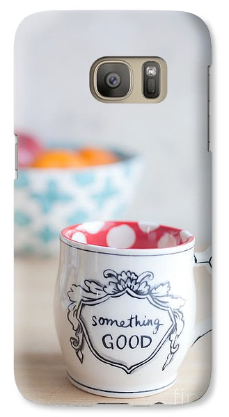 Galaxy Case featuring the photograph Something Good by Aiolos Greek Collections