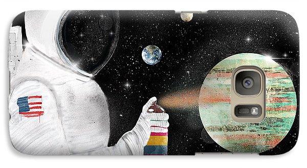 Astronaut Galaxy S7 Case - Space Graffiti by Bri Buckley