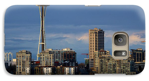 Galaxy Case featuring the photograph Space Needle by Evgeny Vasenev