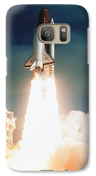 Space Galaxy S7 Case - Space Shuttle Launch by NASA Science Source