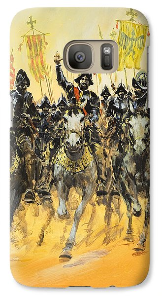 Spanish Conquistadors Galaxy S7 Case by Graham Coton