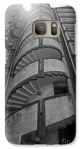 Galaxy Case featuring the photograph Spiral Staircase by Aiolos Greek Collections