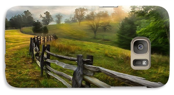Galaxy Case featuring the painting Splash Of Morning Light Ap by Dan Carmichael