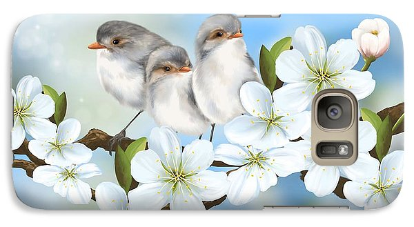Galaxy Case featuring the painting Spring Fever by Veronica Minozzi