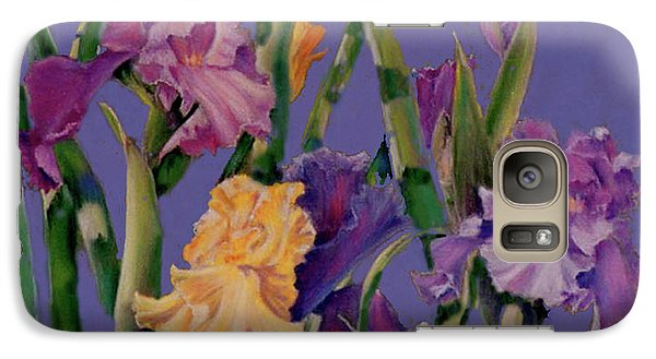 Galaxy Case featuring the pastel Spring Recital by Ann Peck
