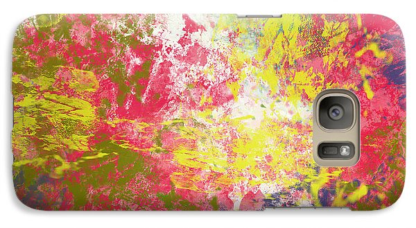 Galaxy Case featuring the digital art Spring Thoughts by Trilby Cole