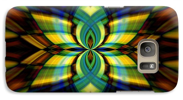 Galaxy Case featuring the photograph Stained Glass by Cherie Duran