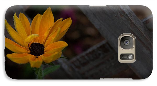Galaxy Case featuring the photograph Standing Alone by Cherie Duran