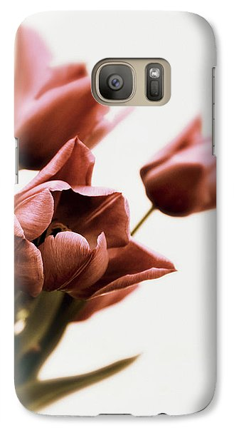 Galaxy Case featuring the photograph Still Life Tulips by Jessica Jenney