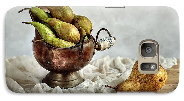 Still-life With Pears Galaxy S7 Case by Nailia Schwarz