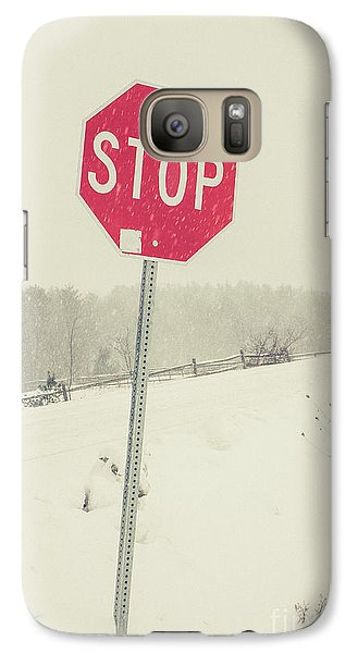 Galaxy Case featuring the photograph Stop by Edward Fielding