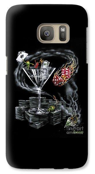 Martini Galaxy S7 Case - Strike It Rich by Michael Godard