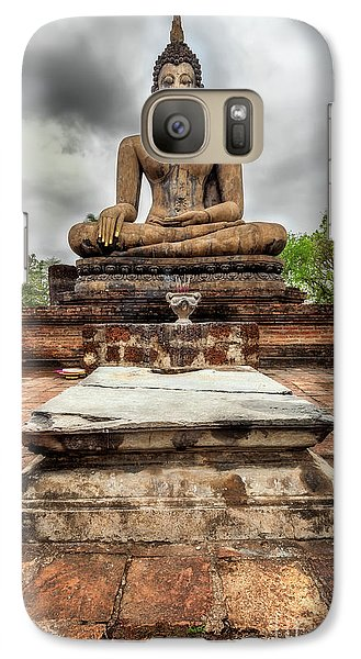 Galaxy Case featuring the photograph Sukhothai Historical Park by Adrian Evans