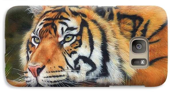 Sumatran Tiger  Galaxy S7 Case