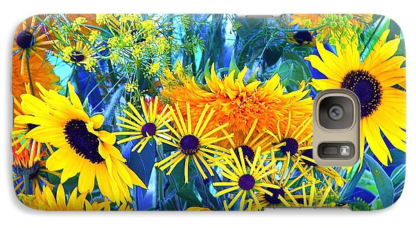Galaxy Case featuring the photograph Summer Bouquet by Byron Varvarigos