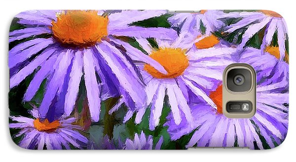 Galaxy Case featuring the painting Summer Dreaming by David Dehner