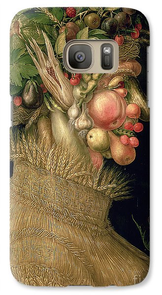 Summer Galaxy S7 Case by Giuseppe Arcimboldo