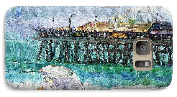 Galaxy Case featuring the painting Summer Sun by Jennifer Beaudet