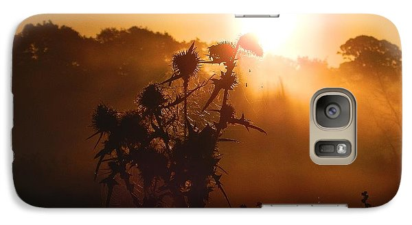 Galaxy Case featuring the photograph Sun Up by Gary Bridger
