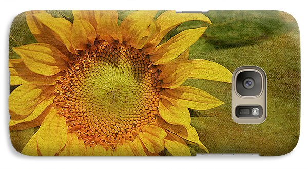Sunflower Galaxy S7 Case - Sunflower by Cindi Ressler