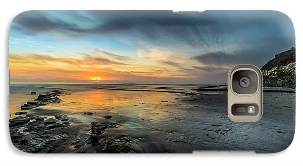 Sunset At Swamis Beach Galaxy S7 Case