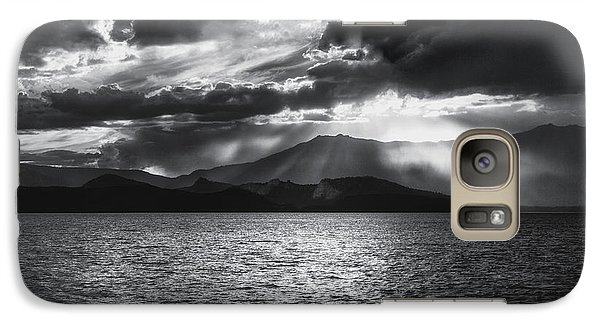 Galaxy Case featuring the photograph Sunset by Hayato Matsumoto