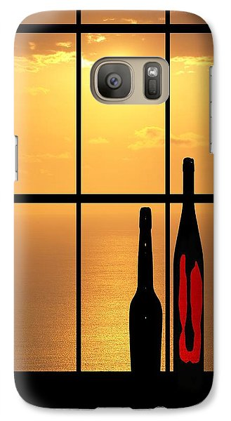 Galaxy Case featuring the photograph Sunset In Hawaii by Athala Carole Bruckner