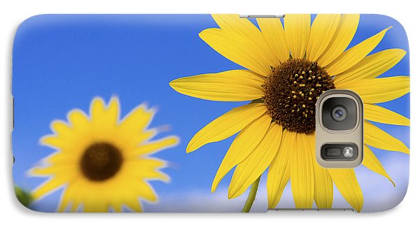 Sunflower Galaxy S7 Case - Sunshine by Chad Dutson