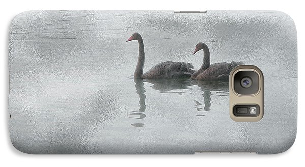 Galaxy Case featuring the photograph Swan Lake by Carolyn Dalessandro