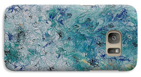 Galaxy Case featuring the painting Swell by Pat Purdy