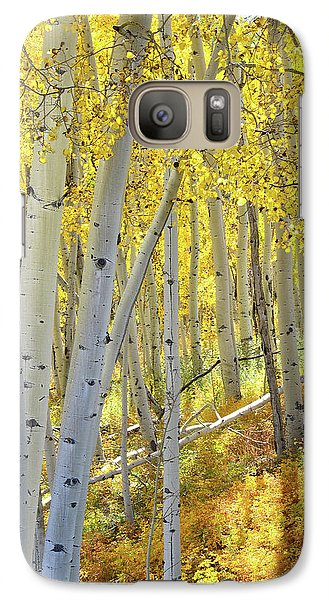 Galaxy Case featuring the photograph Telluride Aspens by Ray Mathis