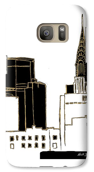 Tenement Empire State Building Galaxy Case by Nicholas Biscardi