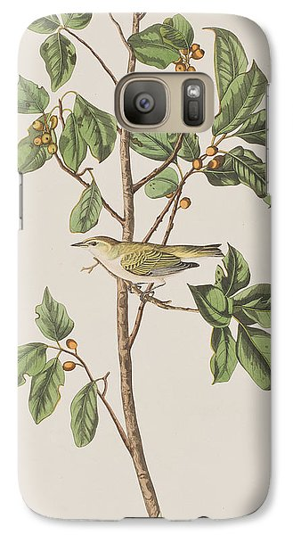 Tennessee Warbler Galaxy S7 Case by John James Audubon