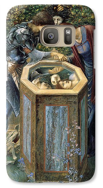 The Baleful Head Galaxy S7 Case by Edward Burne-Jones