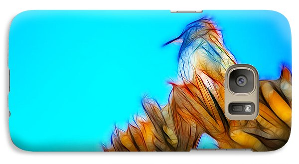 Galaxy Case featuring the photograph The Cactus Wren by Donna Greene