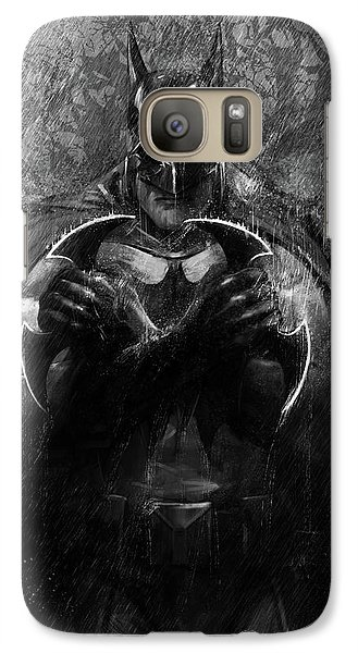 Galaxy Case featuring the digital art The Detective by Steve Goad