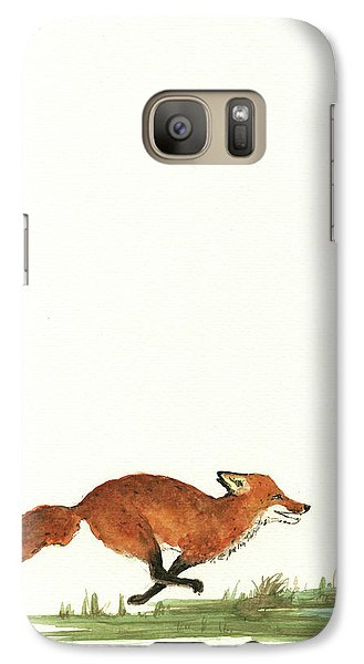 The Fox And The Pelicans Galaxy Case by Juan Bosco