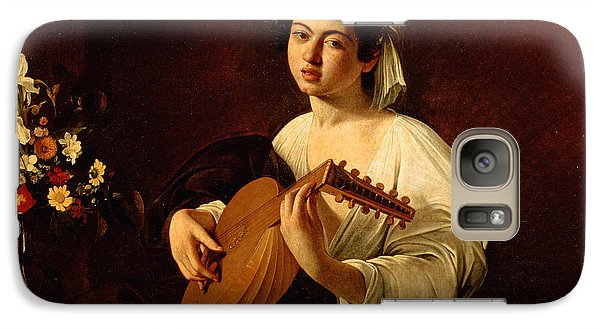 Music Galaxy S7 Case - The Lute-player by Caravaggio