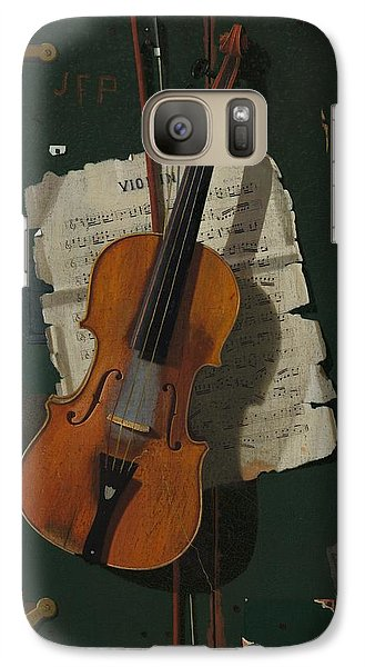 Violin Galaxy S7 Case - The Old Violin by Mountain Dreams