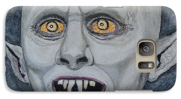 Galaxy Case featuring the painting The Politician. by Ken Zabel