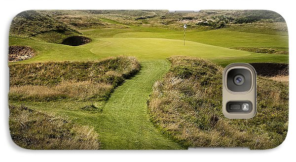 The Postage Stamp - Royal Troon Golf Course Galaxy S7 Case