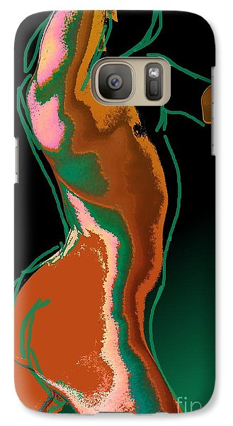Galaxy Case featuring the photograph The Race by Robert D McBain