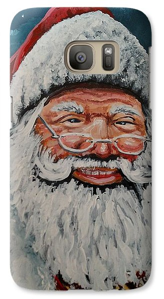 Galaxy Case featuring the painting The Real Santa by James Guentner