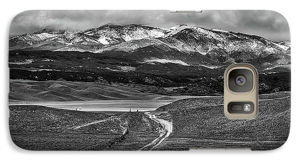 Galaxy Case featuring the photograph The Road That Leads You Home by Peter Tellone