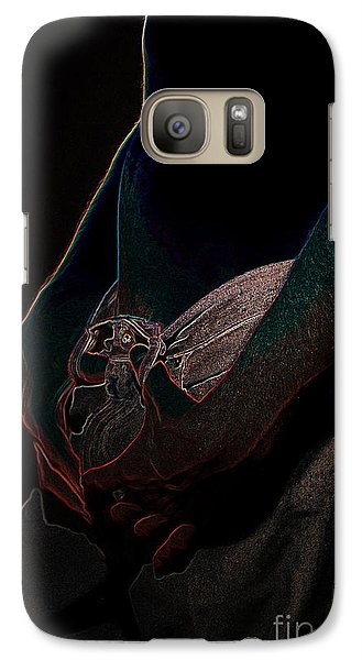 Galaxy Case featuring the photograph The Shadow by Robert D McBain