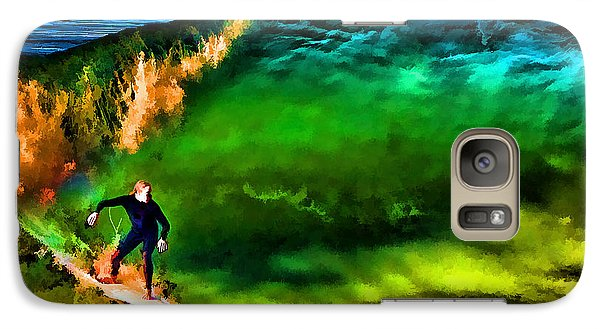 Galaxy Case featuring the photograph The Shadow Within by John A Rodriguez