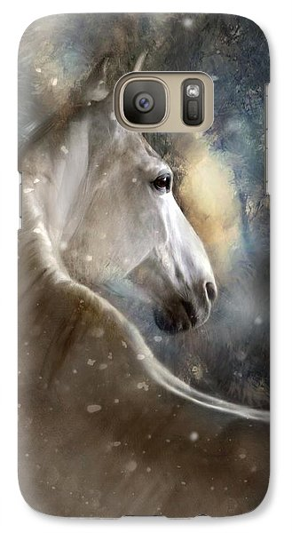 Galaxy Case featuring the digital art The Spirit Of Winter by Dorota Kudyba
