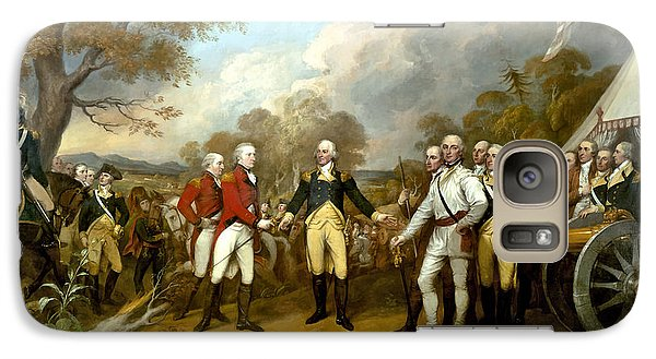 The Surrender Of General Burgoyne Galaxy S7 Case