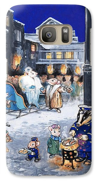 The Town Mouse And The Country Mouse Galaxy S7 Case by Philip Mendoza