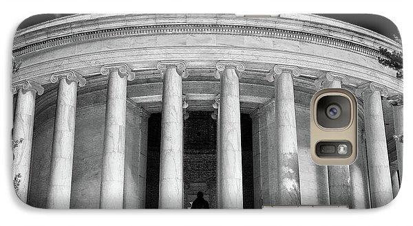 Galaxy Case featuring the photograph Thomas Jefferson Memorial  by Mitch Cat